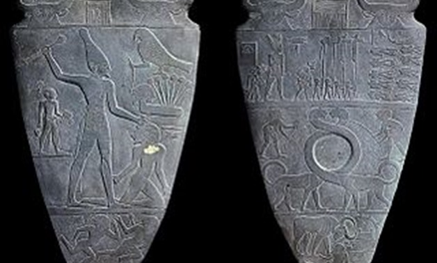 Fragmented from Narmer Palette – Photo Courtesy of Wikipedia
