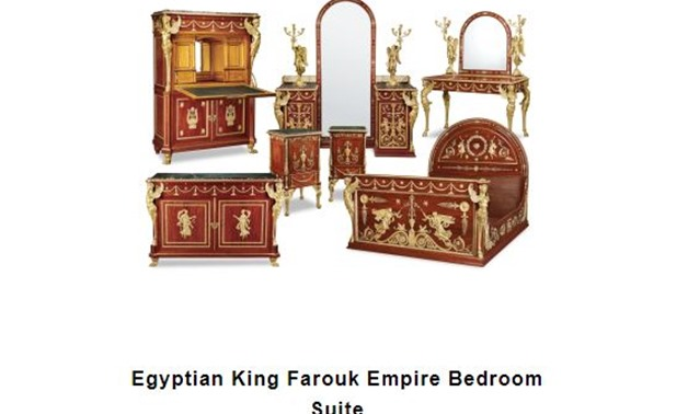 Archive – King Farouk's Bedroom Suit