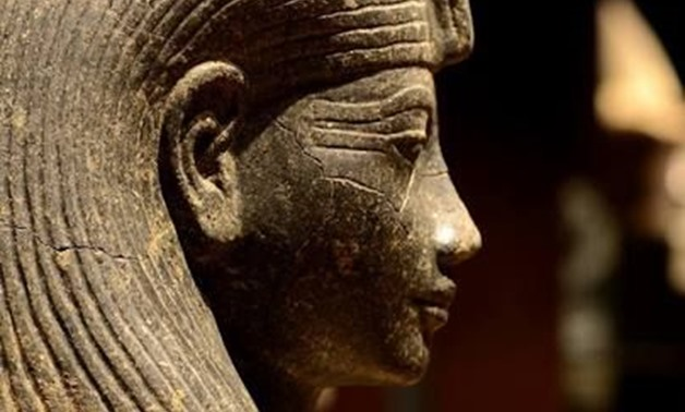 Statue of Queen Neithhotep's face – Photo courtesy of Pinterest