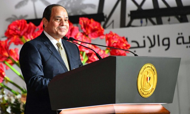 Sisi said the three-day event offered a real opportunity to review the achievements made in Egypt over the past four years – Press photo