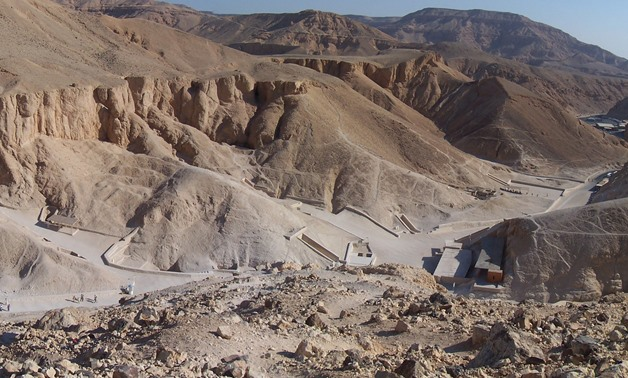 Valley of the Kings –Wikimedia