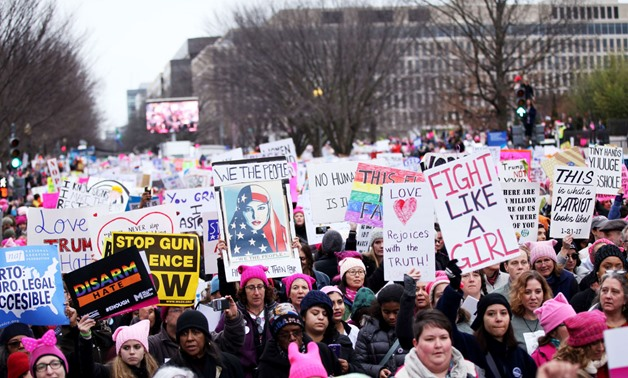 Power to the Polls: Women's March 2.0 aims to harness Trump opposition - Brian Snyder / Reuters