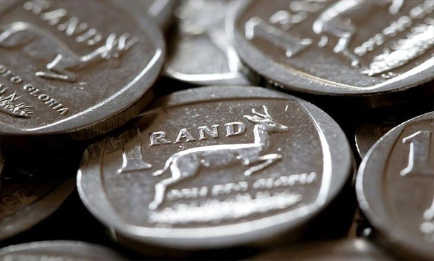South African Rand coins are seen in this photo illustration taken September 9, 2015 - REUTERS/Mike Hutchings/File Photo