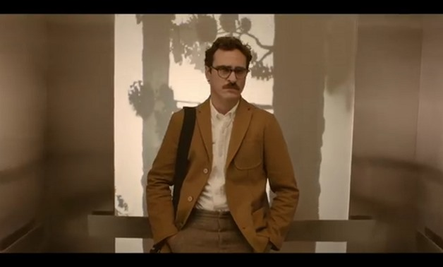 Screencap of Joaquin Phoenix as Theodore Twombly from the film's trailer, January 24, 2018 - Warner Bros. Pictures/Youtube Channel