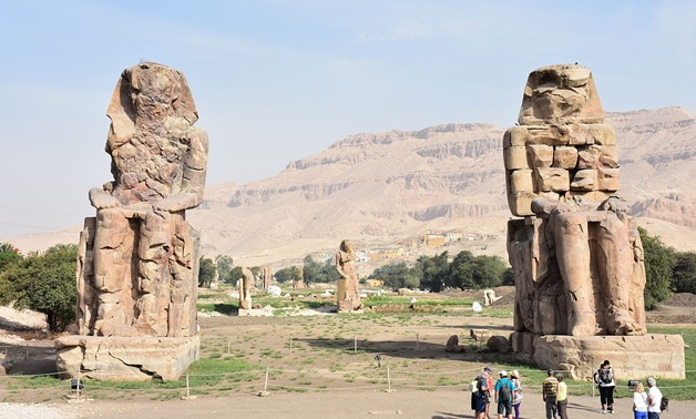 Colossi of Memnon – Photo Courtesy of Wikipedia