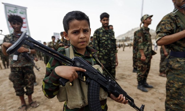 Arab coalition in Yemen hands over child-soldiers forced to fight by Houthi terrorists - AFP