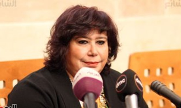 FILE - The Egyptian Minister of Culture Enas Abdel Dayem – Egypt Today