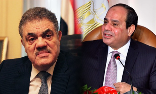 Collage photo of Egypt's potential presidency candidates Abdel Fattah al-Sisi (R) and el-Sayed el-Badawy (L)– Egypt Today/Ahmed Hussein
