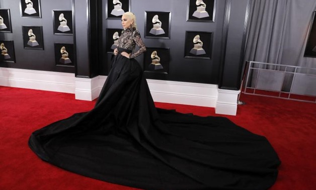 Lady Gaga arrives at the 60th Annual Grammy Awards in New York. REUTERS/Andrew Kelly
