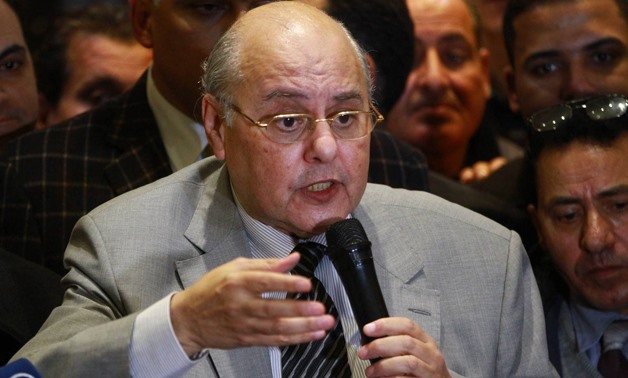 Chairperson of El Ghad Party Moussa Mostafa Moussa in a press conference after running for Presidetial election, on Monday, 29 January 2018- Egypt Today/Hussein Tallal