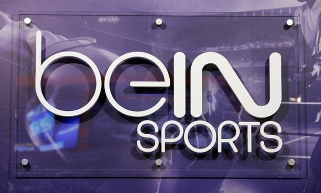 The logo of French TV channel 'beIN Sport' is seen at the company's stand during the Sportel in Monte Carlo October 8, 2014. REUTERS/Eric Gaillard