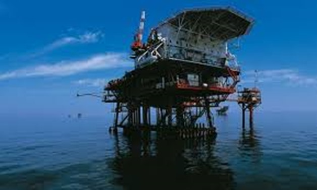 Works on Zohr field on the Mediterranean - Photo courtesy of Eni website