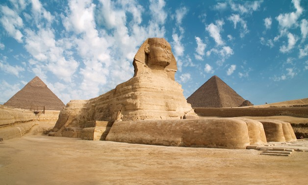 Pyramids - via Wikipedia commons