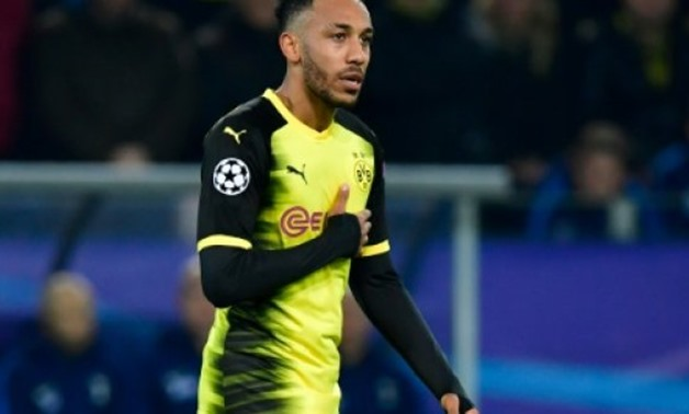 AFP/File / by Pirate IRWIN   Borussia Dortmund striker Pierre-Emerick Aubameyang is set to complete his move to Premier League club Arsenal