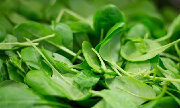 Spinach is a source of zinc. Via CC/Pixabay