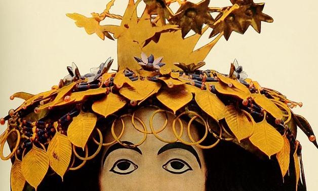 Queen Puabi's Headgear – Photo Courtesy of Wikipedia