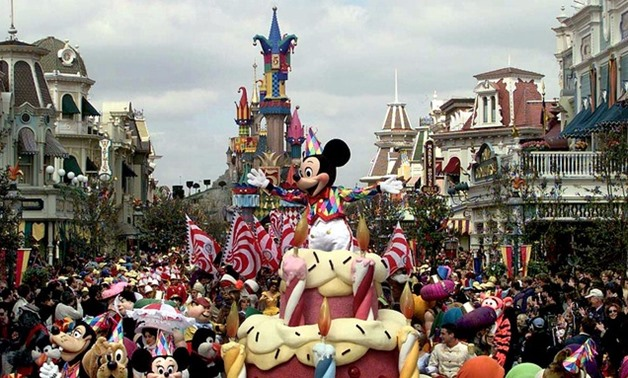 Disney Land- Reuters