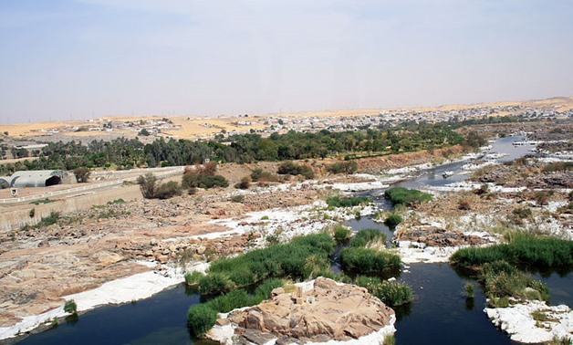 Nile river in Aswan- Creative Commons