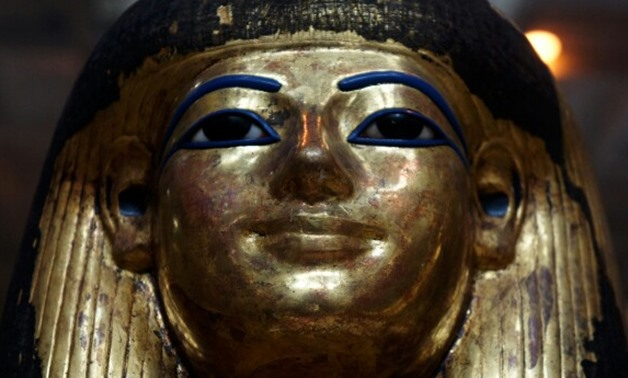 A Funerary Mask of Queen Tuya – Photo Courtesy of Pinterest