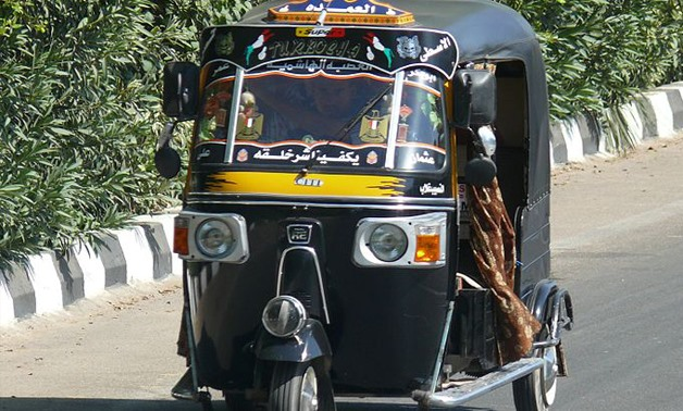 Tuk-tuk on the Luxor-Hurghada Road, Egypt – Wikimedia/Ad Meskens