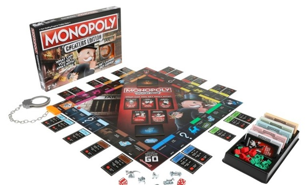 HASBRO Gaming/AFP/File -The latest version of the board game Monopoly encourages cheating and will be available in the autumn of 2018