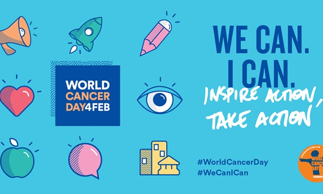 Official campaign poster - World Cancer Day official Facebook page