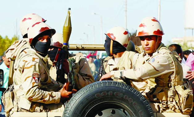 Egyptian military - Reuters