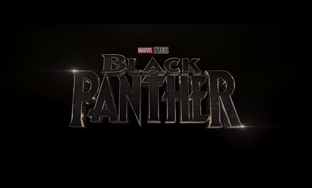 Screencap of the logo for the Black Panther film from the official trailer, February 4, 2018 – Marvel Entertainment/Youtube