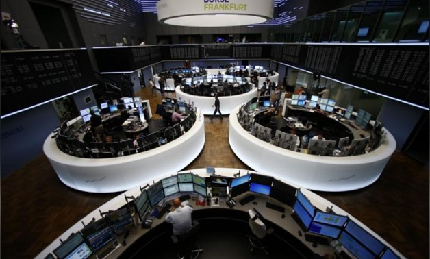 FILE PHOTO: General view of the Frankfurt stock exchange, Germany, June 29, 2015. REUTERS/Ralph Orlowski