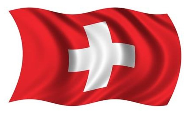 An image of the Swiss flag -  Courtesy of the official Facebook page of the Swiss Embassy in Cairo