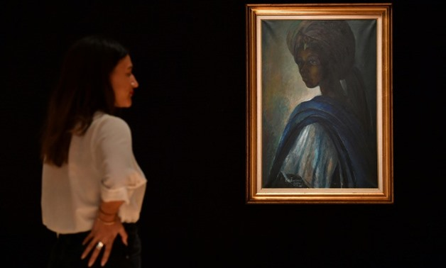 Ben Enwonwu's 1974 painting of the daughter of a Yoruba king has taken on almost mythical status in Nigeria