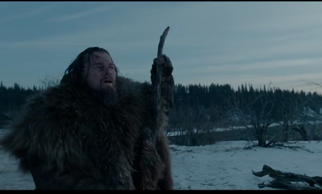 Screencap from The Revenant's Official Trailer showing DiCaprio, February 8, 2018 – Photo courtesy of 20th Century Fox's Youtube channel