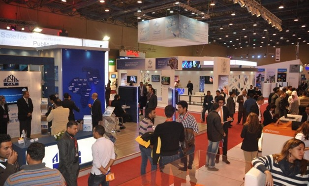 FILE - ICT Fair in Cairo