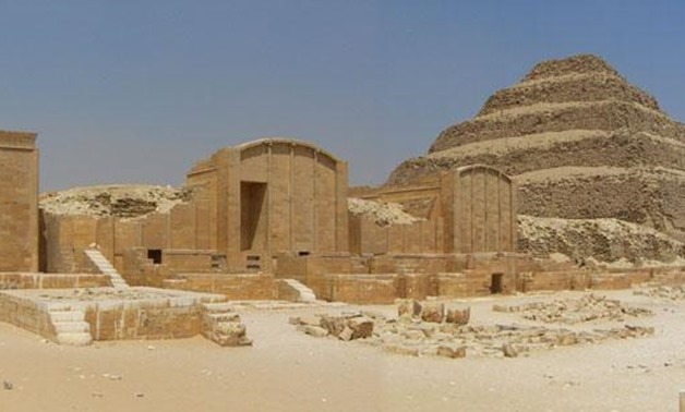 Saqqara Archaeological area and Djoser Pyramid - Ministry of Antiquities official Facebook Page