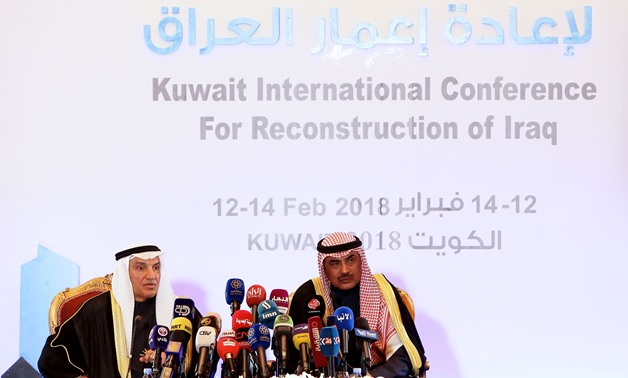Kuwait's International Conference for Reconstruction of Iraq (KICRI) that kicked off on Monday, February 21 – Press photo