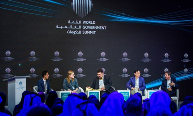 Cryptocurriences session at the World Government Summit 2018 in Dubai/ Egypt Today