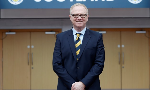Soccer Football - Scotland - Alex McLeish Press Conference - Hampden Park, Glasgow, Britain - February 16, 2018 Scotland manager Alex McLeish poses for a photograph REUTERS/Russell Cheyne