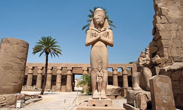 Temple of Luxor in Egypt July 18, 2016 – Photo courtesy of Wikimedia