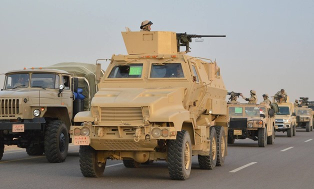 Military operations in Sinai- File photo