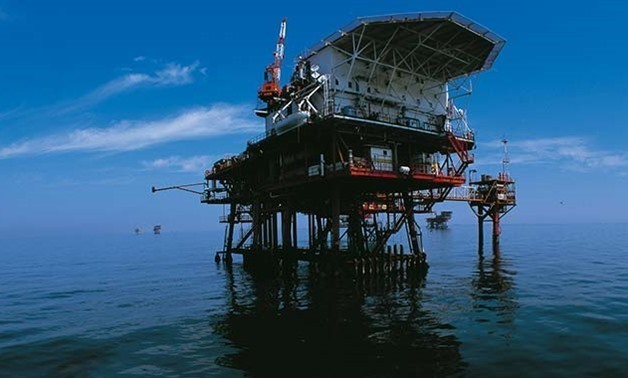 Works on Zohr gas field on the Mediterranean- Photo courtesy of Eni website