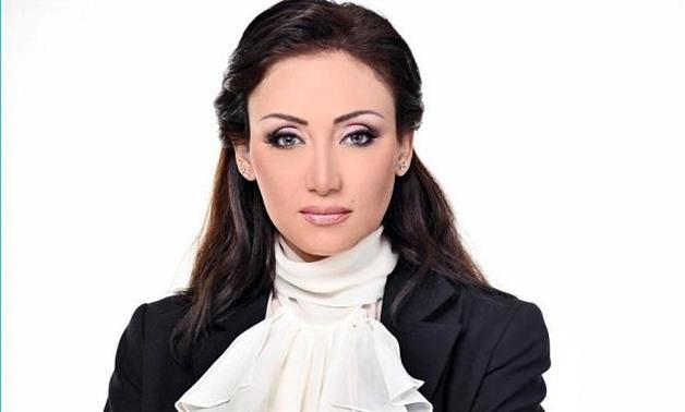FILE- TV host Reham Saeed
