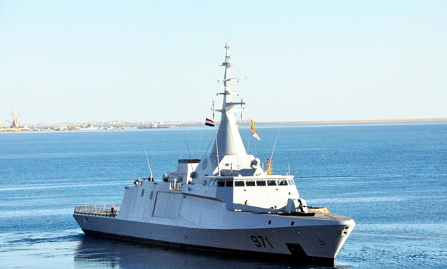 Training drill between Egyptian, French naval forces launches