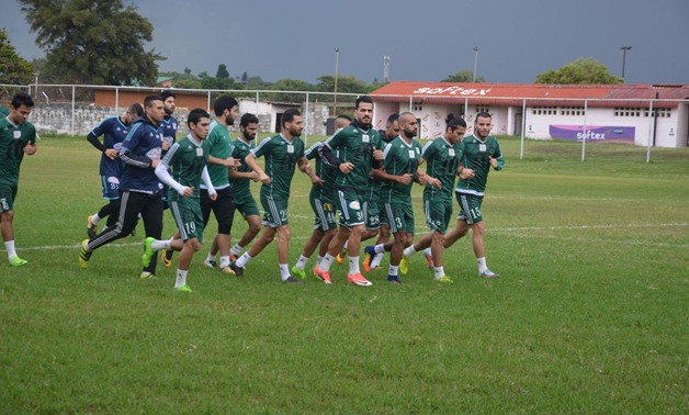 Al- Masry SC training session – official Facebook Page