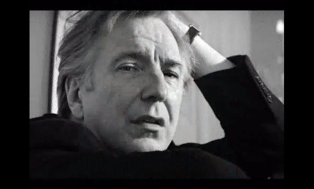 "Screencap of Alan Rickman from 'Alan Rickman reads Shakespeare's ""Sonnet 130"" ', January 14, 2016 - Katexic Clippings Newsletter/Flickr"