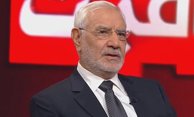 FILE - Muslim Brotherhood (MB) dissident and former presidential candidate Abdel-Moneim Aboul Fotouh