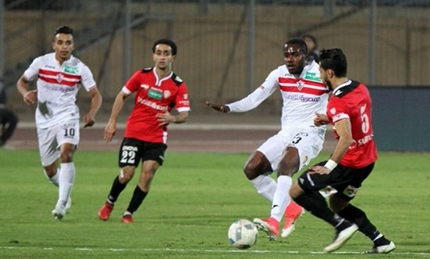FILE – Zamalek vs Talaea El Geish