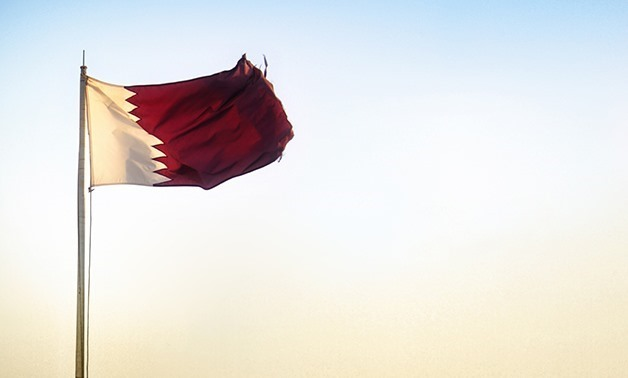 Flag of Qatar - Photo courtesy of Flacker Photo Creative