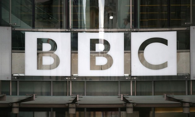 FILE PHOTO: A BBC sign is displayed outside Broadcasting House in London, Britain July 19, 2017. REUTERS/Neil Hall