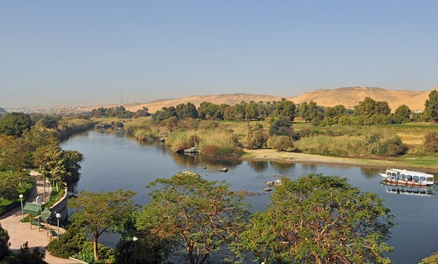 Aswan (Egypt) a branch of the Nile, seen from Isis Island March10,2012 – photo courtesy of Wikimedia.jpg