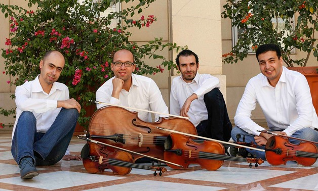 Photo of the Awtar Quartet from Facebook, January 2, 2016 - Awtar Quartet Facebook